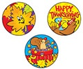 T 83403 THANKSGIVING TIME STINKY STICKERS