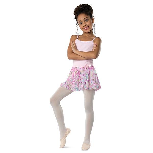Danshuz Child Pastel Flowers Skirt (2605C)