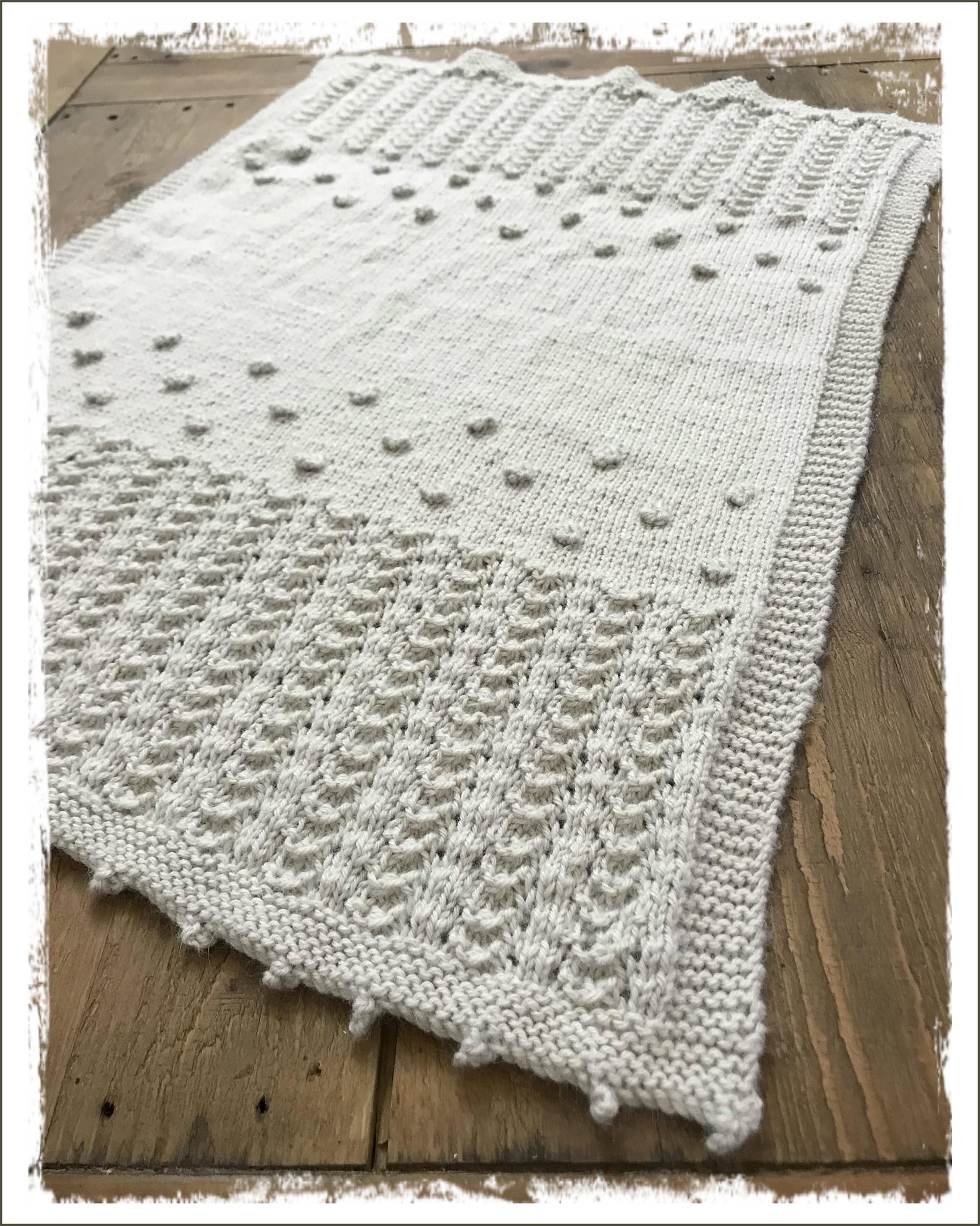 Heirloom Baby Blanket Pattern