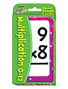 T 23006 MULTIPLICATION 0-12 POCKET FLASH CARDS