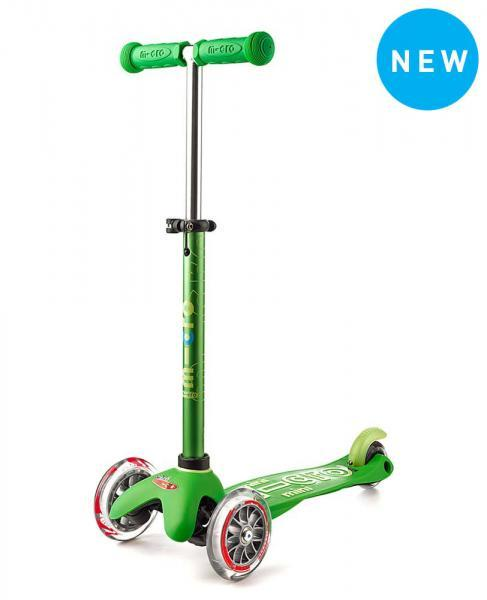 Mini Deluxe Micro Scooter, Grn, One Size
