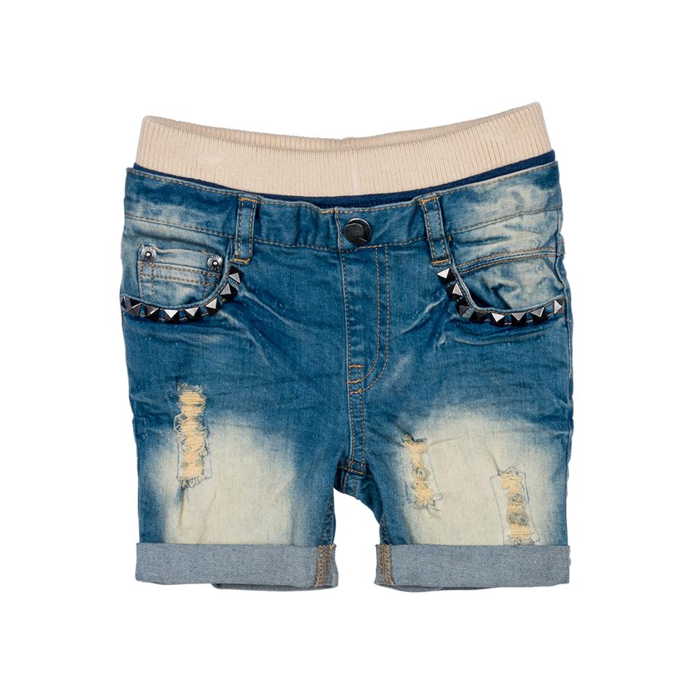 Heavy Metal Denim Shorts