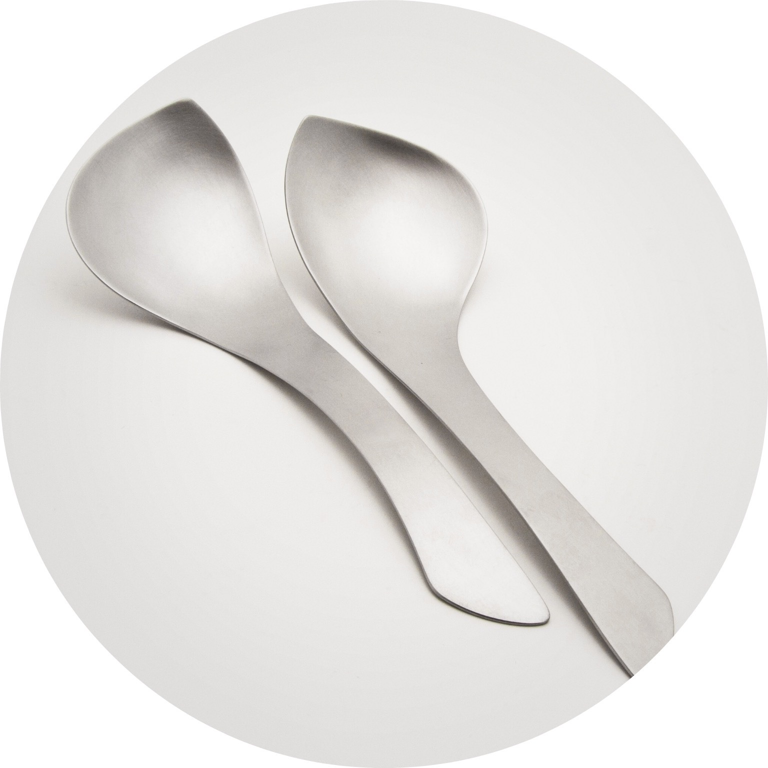 Alison Jackson– Big Spoons. Stainless steel (set of 2)