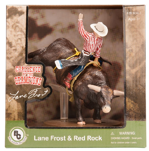 Big Country Toys PBR Bucking Bull And Lane Frost  3aa3d075426