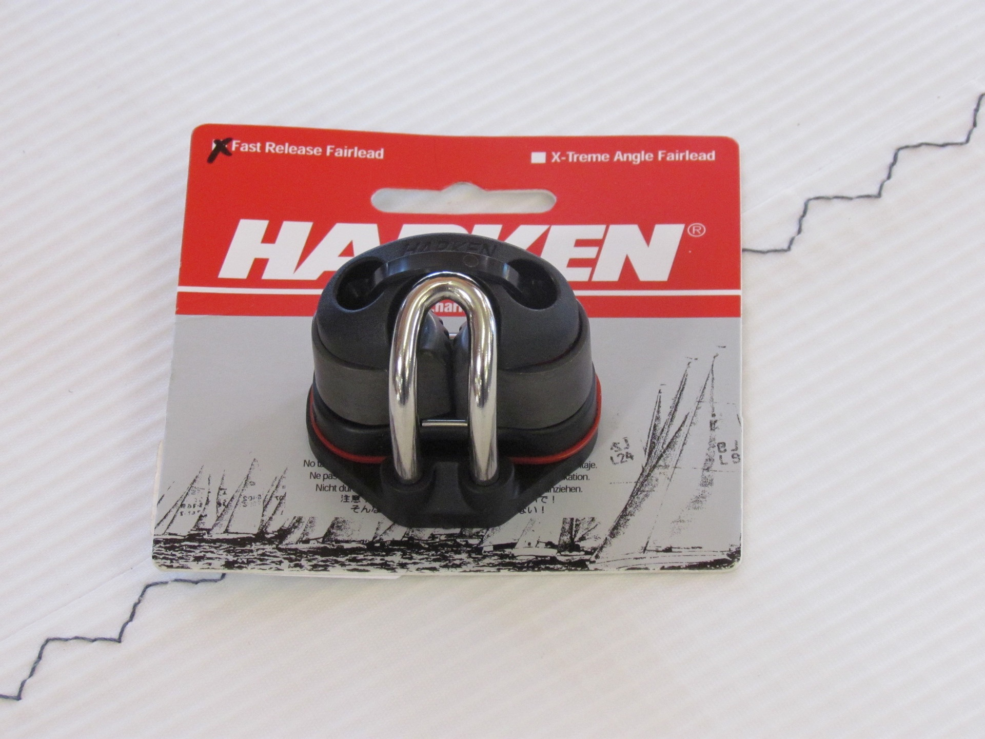 Harken Micro Cam Matic Kit w/Rev Fairlead