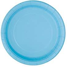 POWDER BLUE DINNER PLATES