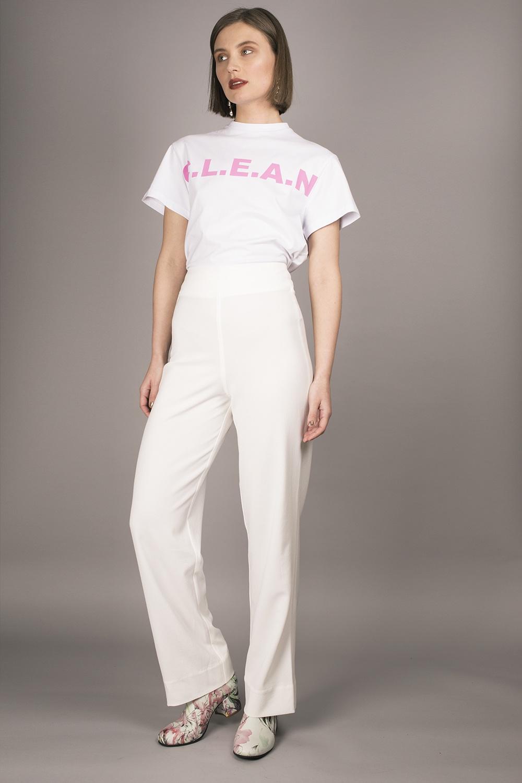 Christina Ledang - CLEAN Logo T-shirts Image