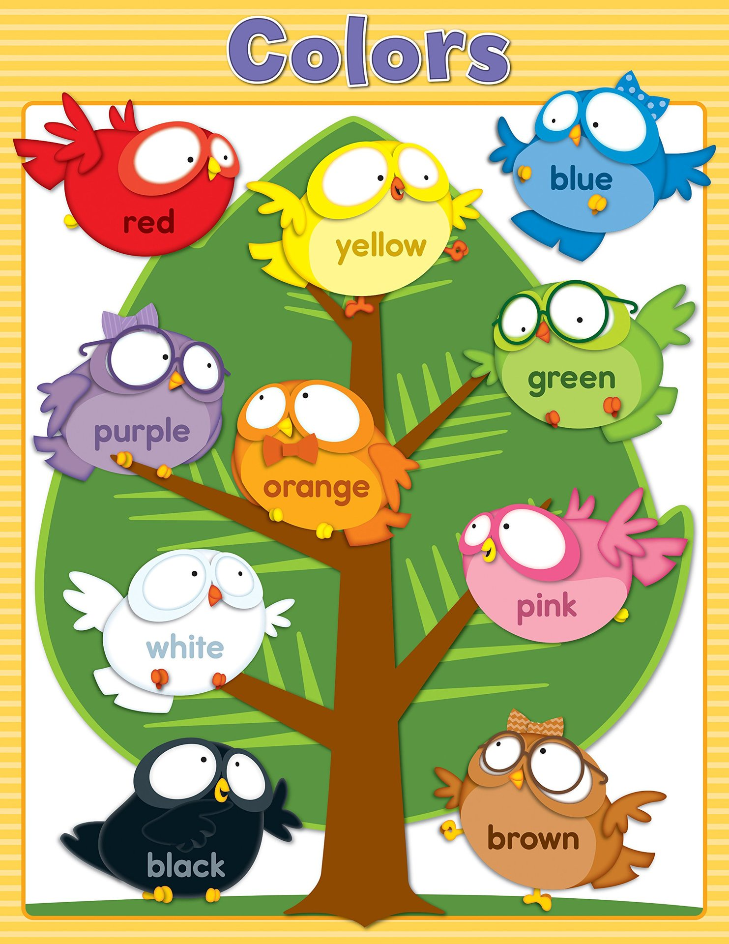X DC CD 114122 OWL PALS COLORS CHART