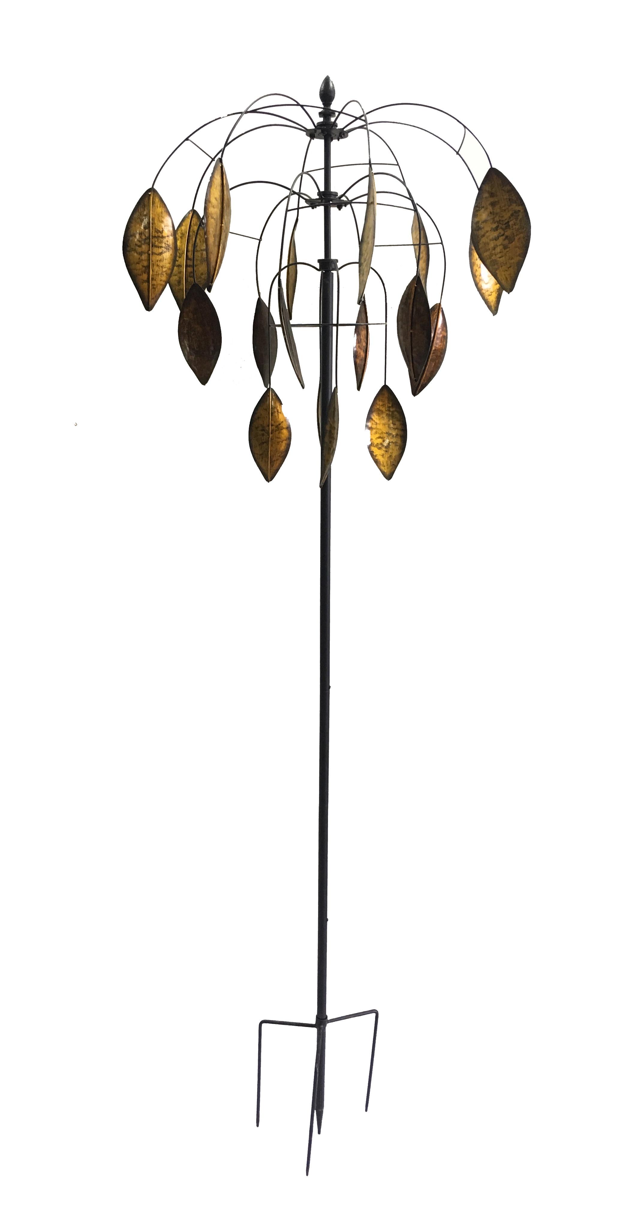Falling leaves windsculpture