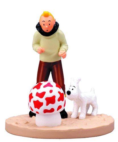 Tintin Boxed Figure Shooting Star Aviator