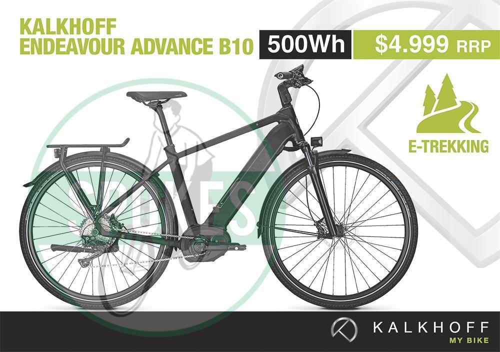 kalkhoff e bike endeavour advance b10 electric bikes