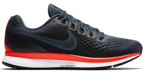 M Nike Air Zoom Pegasus 34 Black/Red