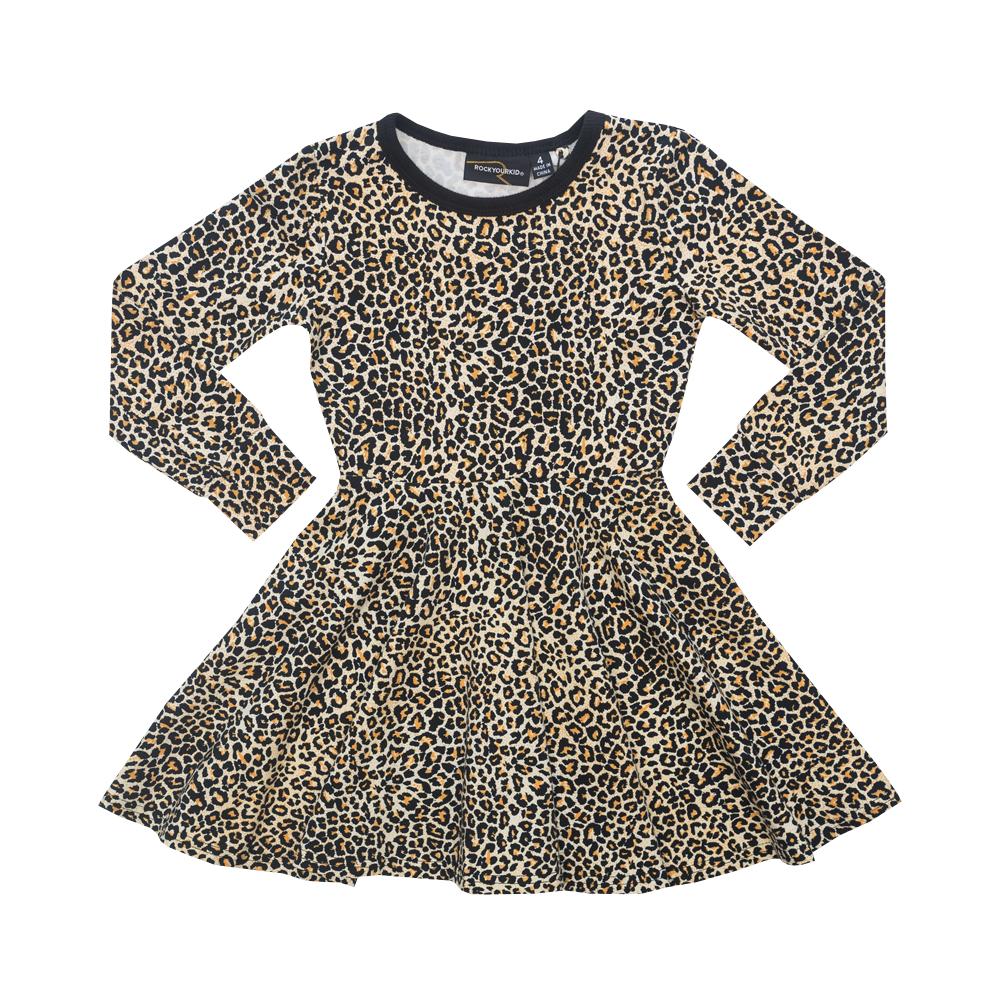 Leopard Waisted Dress