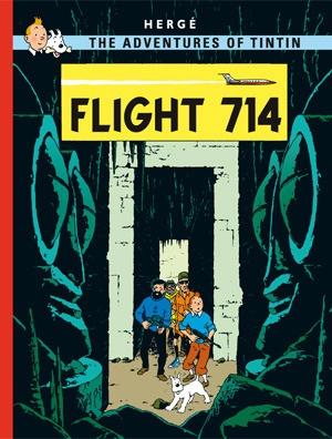 Tintin HC Flight 714 To Sydney