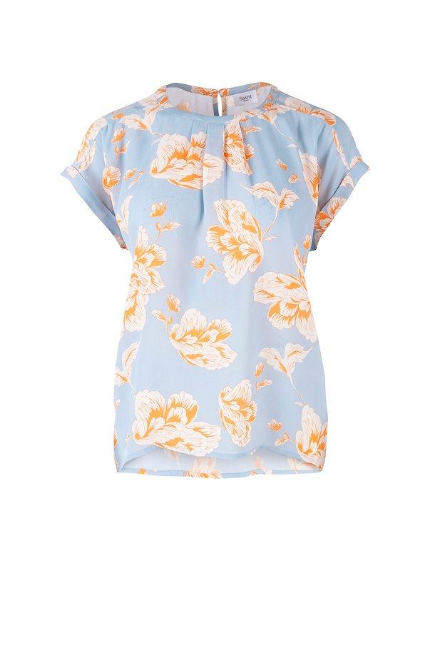 Short sleeved summer blouse