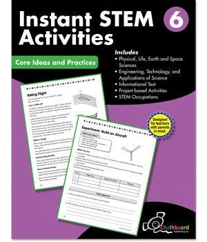 CTP 8198 INSTANT STEM ACTIVITIES GR. 6