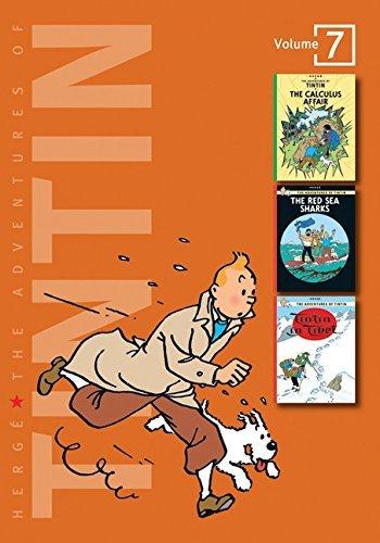 Adventures Of Tintin Vol 07