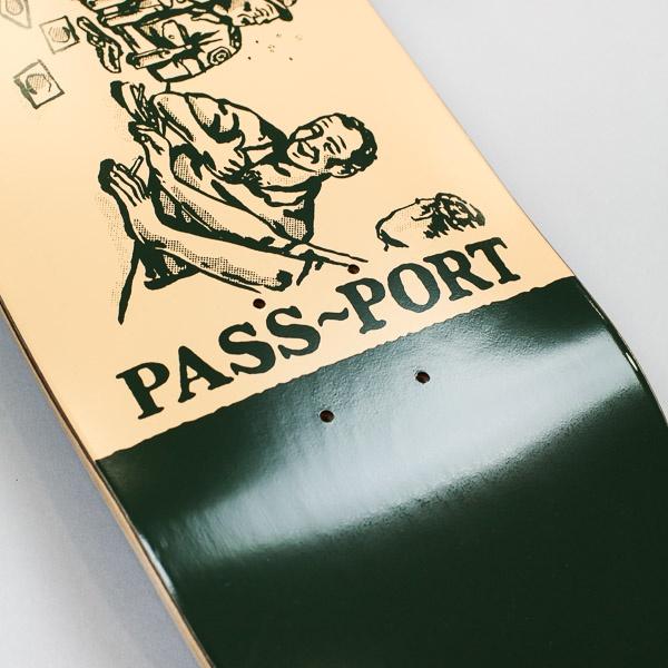 "Pass~Port Crack Series Night Shift Deck 8.5"""
