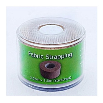 FABRIC STRAPPING 2.5CMX1.5M