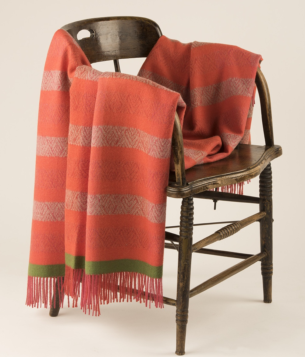 STRIPED PEAKS THROW C001