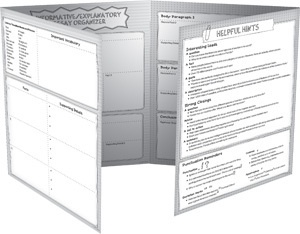 X CTP 6974 INFORMATIVE / EXPLANATORY WRITING ORGANIZER G4-5