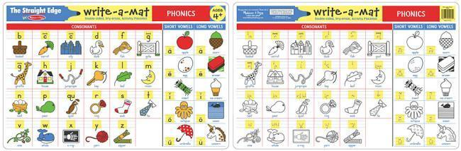 X MD 5005 PHONICS WRITE A MAT EACH