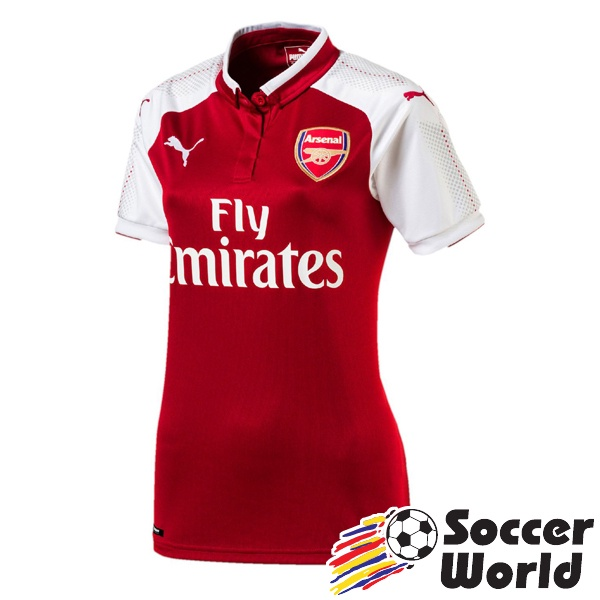 Puma Arsenal FC 17-18 Women Home Jersey