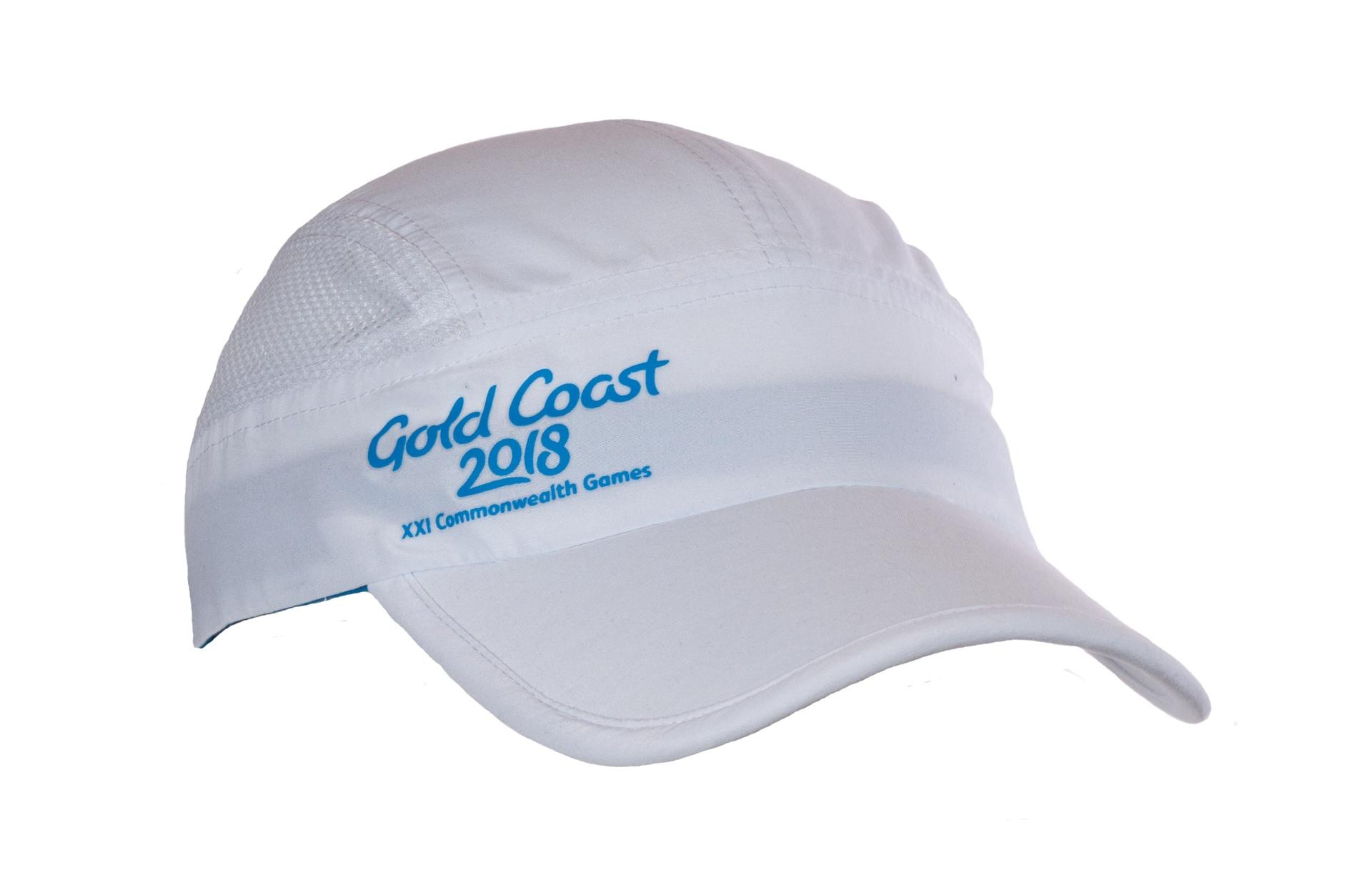 Gold Coast 2018 Tech Cap White Image