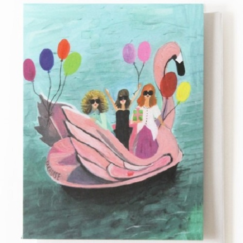 Boat Party Card