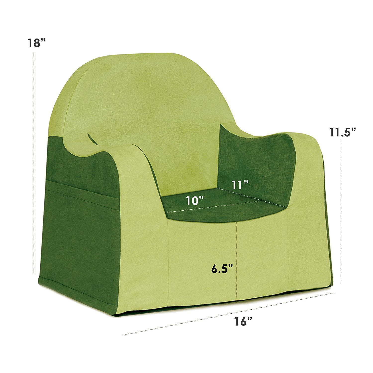 LITTLE READER CHAIR GREEN