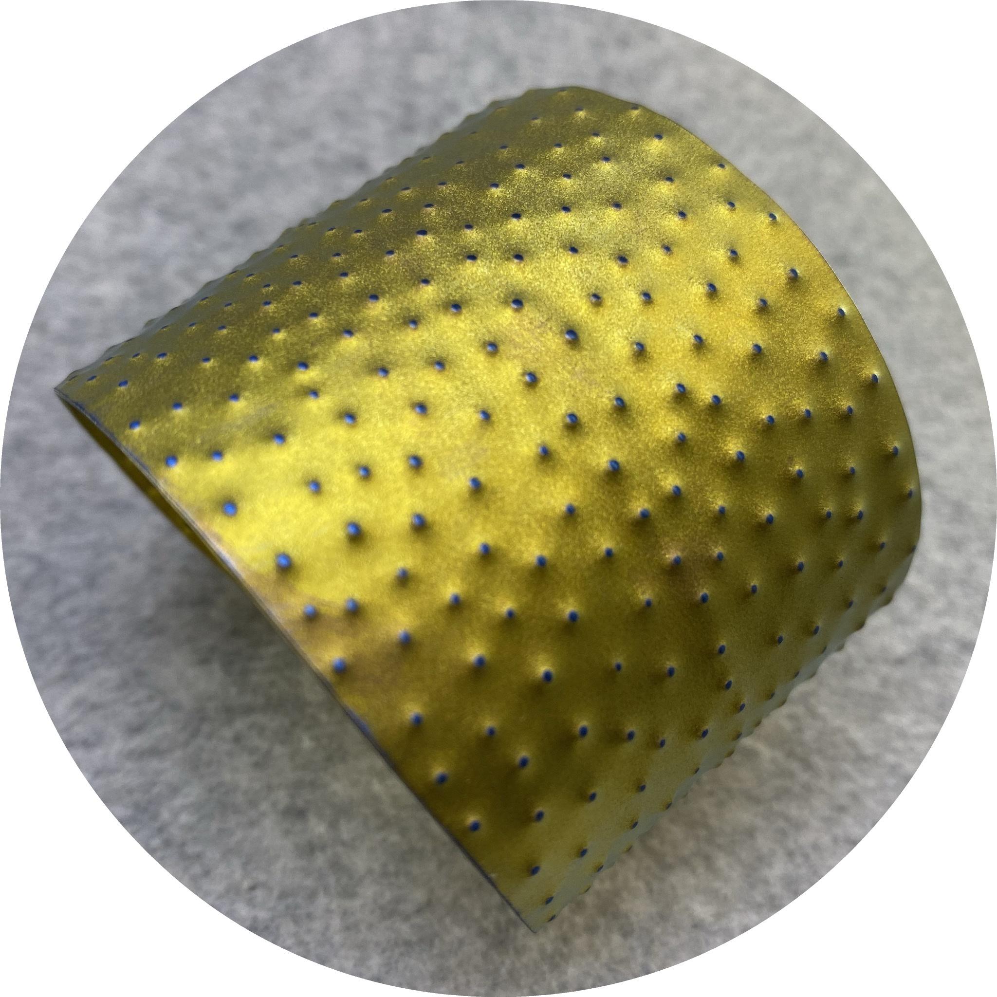 Amanda Croatto - 'Golden Cuff', titanium