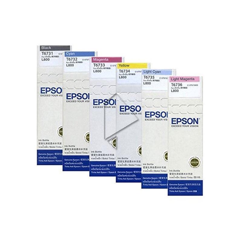 Epson Ink Refill T6736 Light Magenta