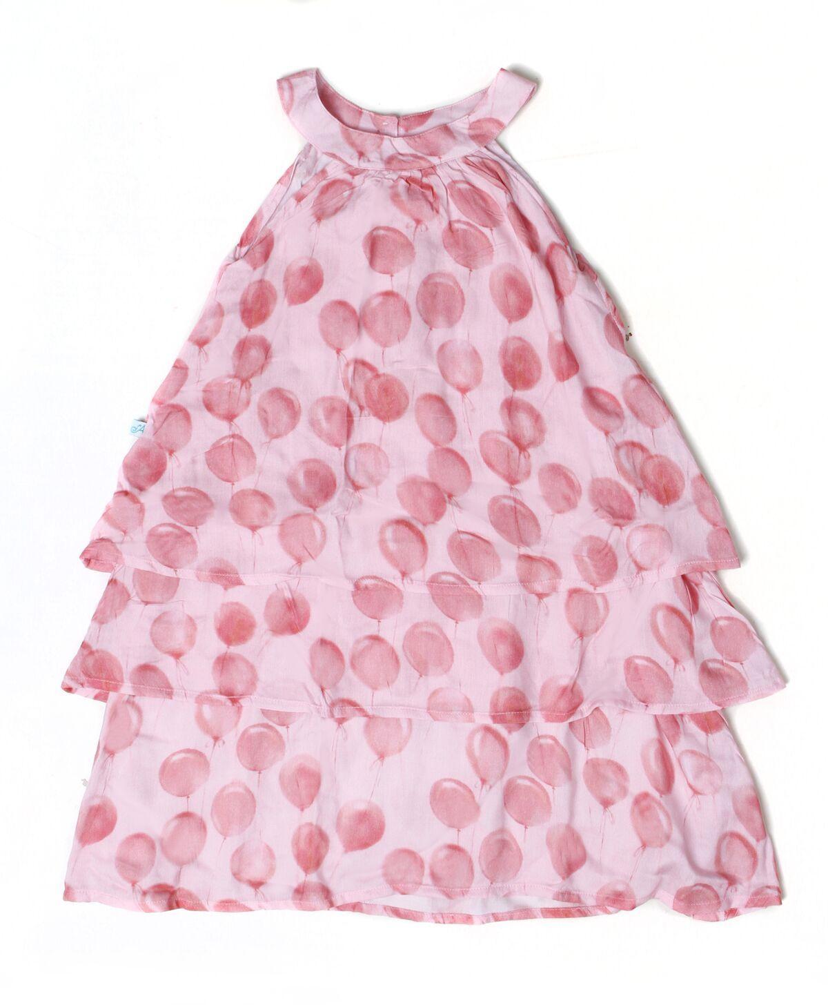 Alex&Ant Balloons Maxi Dress Pink