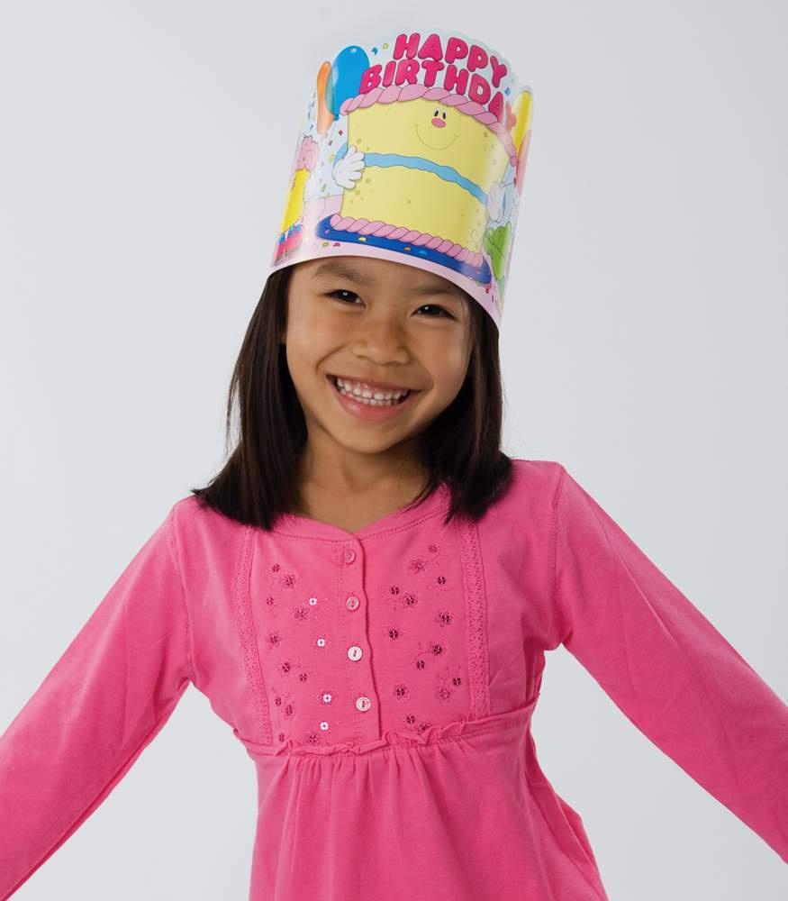CD 0232 HAPPY BIRTHDAY CROWNS