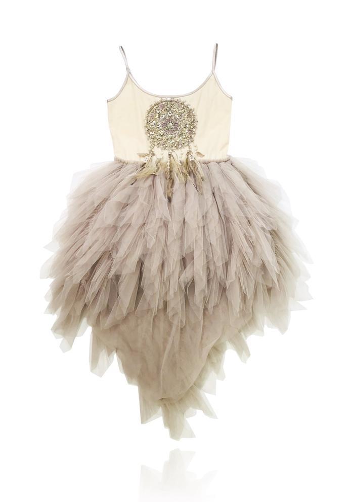 Dolly BOHO Dreamcatcher Tutu Dress/ Large 8-10Y