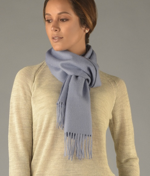 LONG BRUSHED SCARF AZ6886
