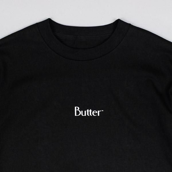 Butter Goods Classic Micro Logo Tshirt Black