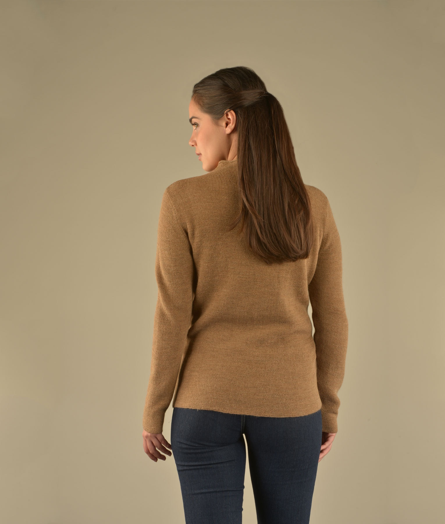 GEO DETAILED HIGH NECK PULLOVER C004
