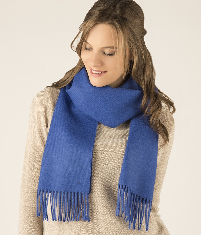 LONG BRUSHED SCARF AZ13488