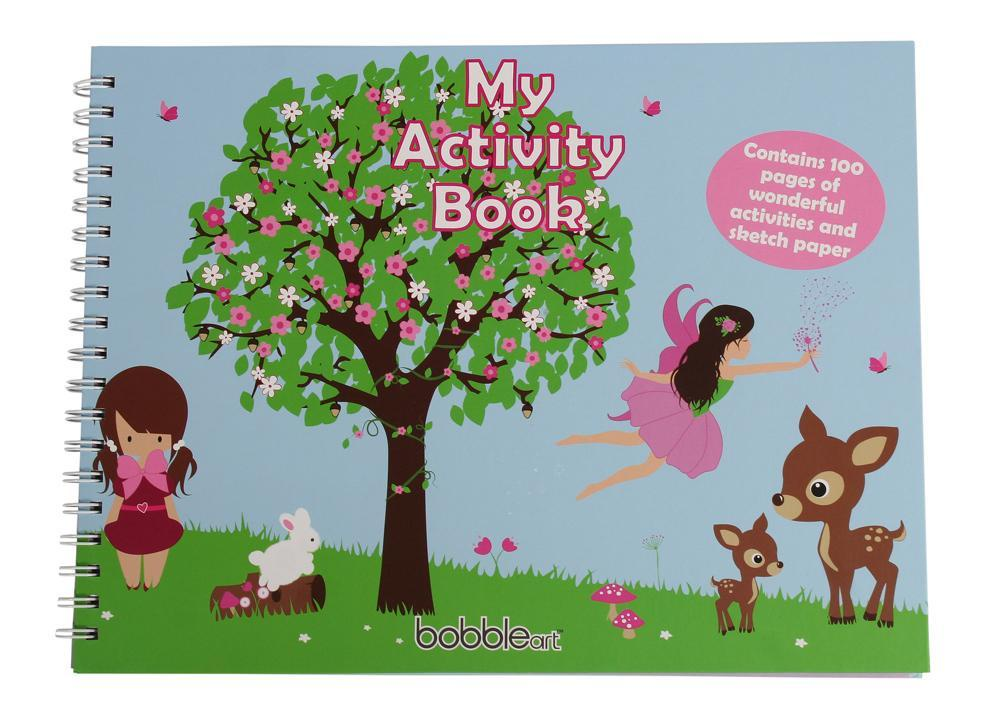 hard covered activity book girls books nonsuch