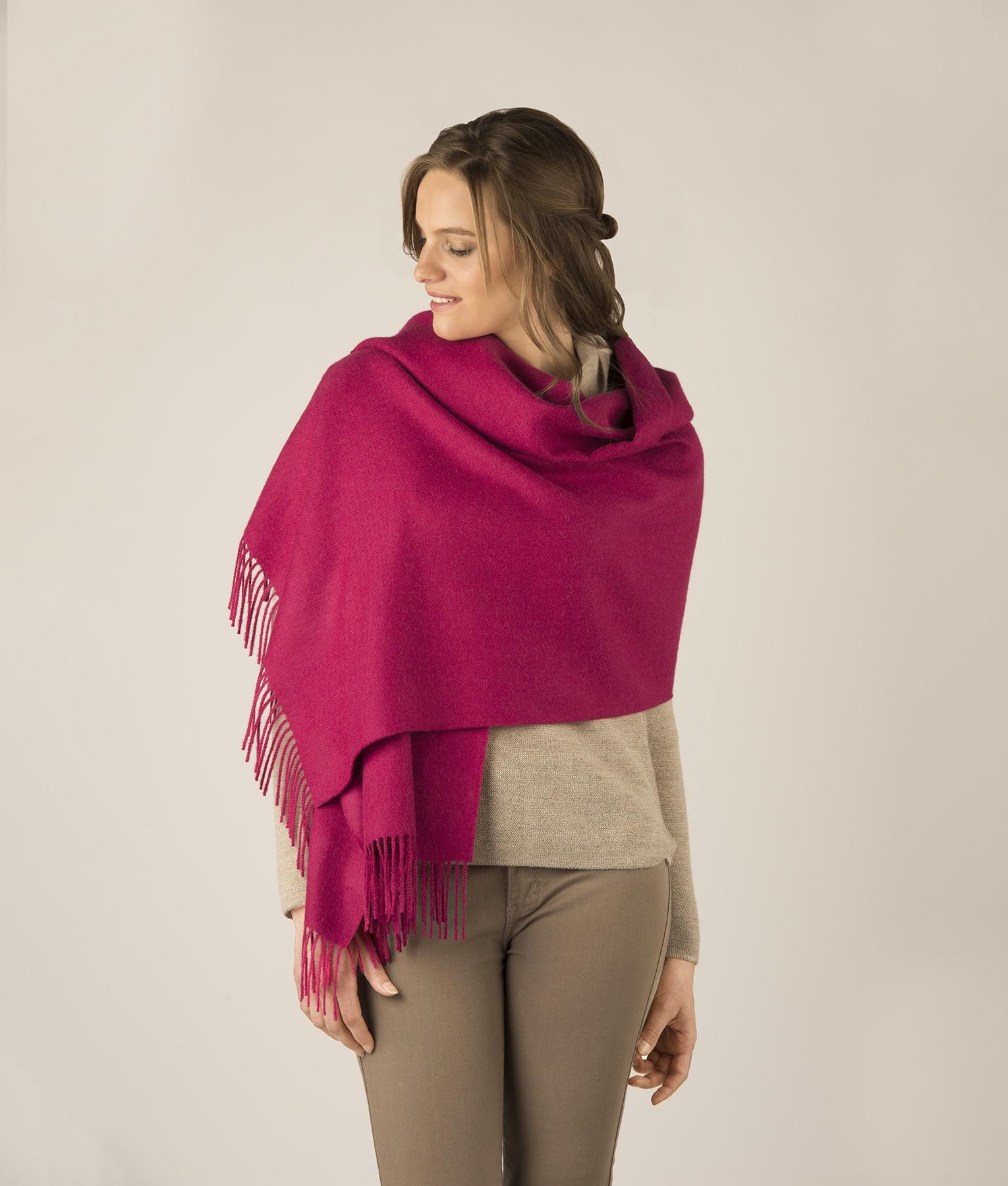 Brushed shawl RJ7747