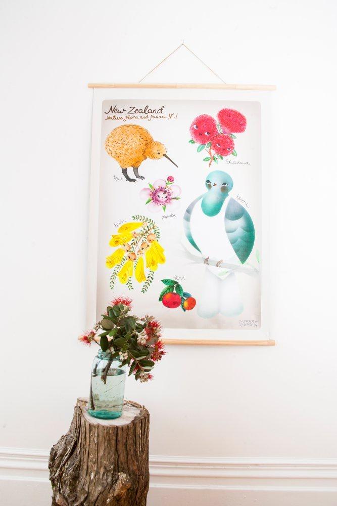 Misery Guts Flora & Fauna SIZE A2