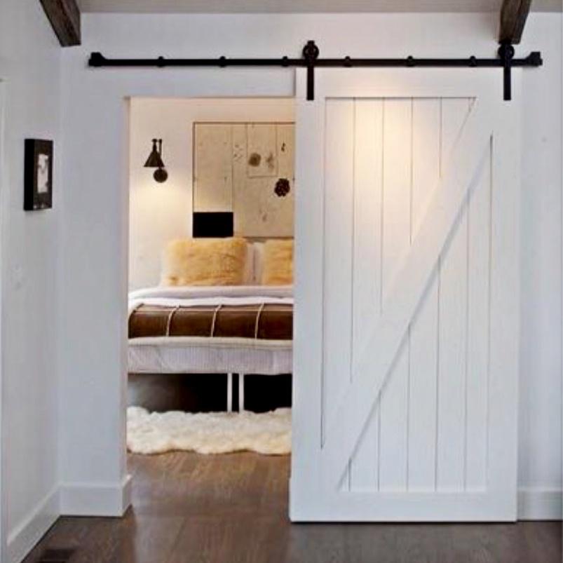 Door barn style hanging door southwest building products for Hanging barn door in house