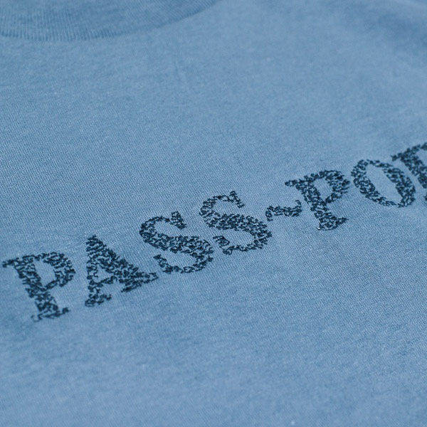Pass~Port Official Sweaty L/S Tshirt Slate