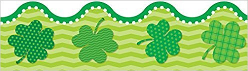 CD 108293 ST. PATRICK'S DAY BORDER