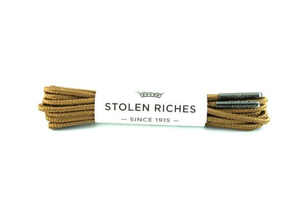 STOLEN RICHES - BOOT LACES (7-9 EYELETS) IN GIPPER BROWN