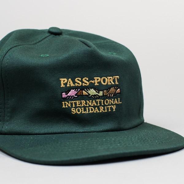 Pass~Port Inter Solid Cap Forest Green