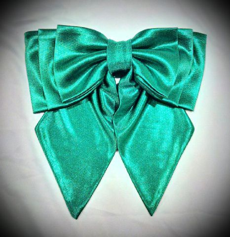 AE Emerald Metallic Bow 3LT