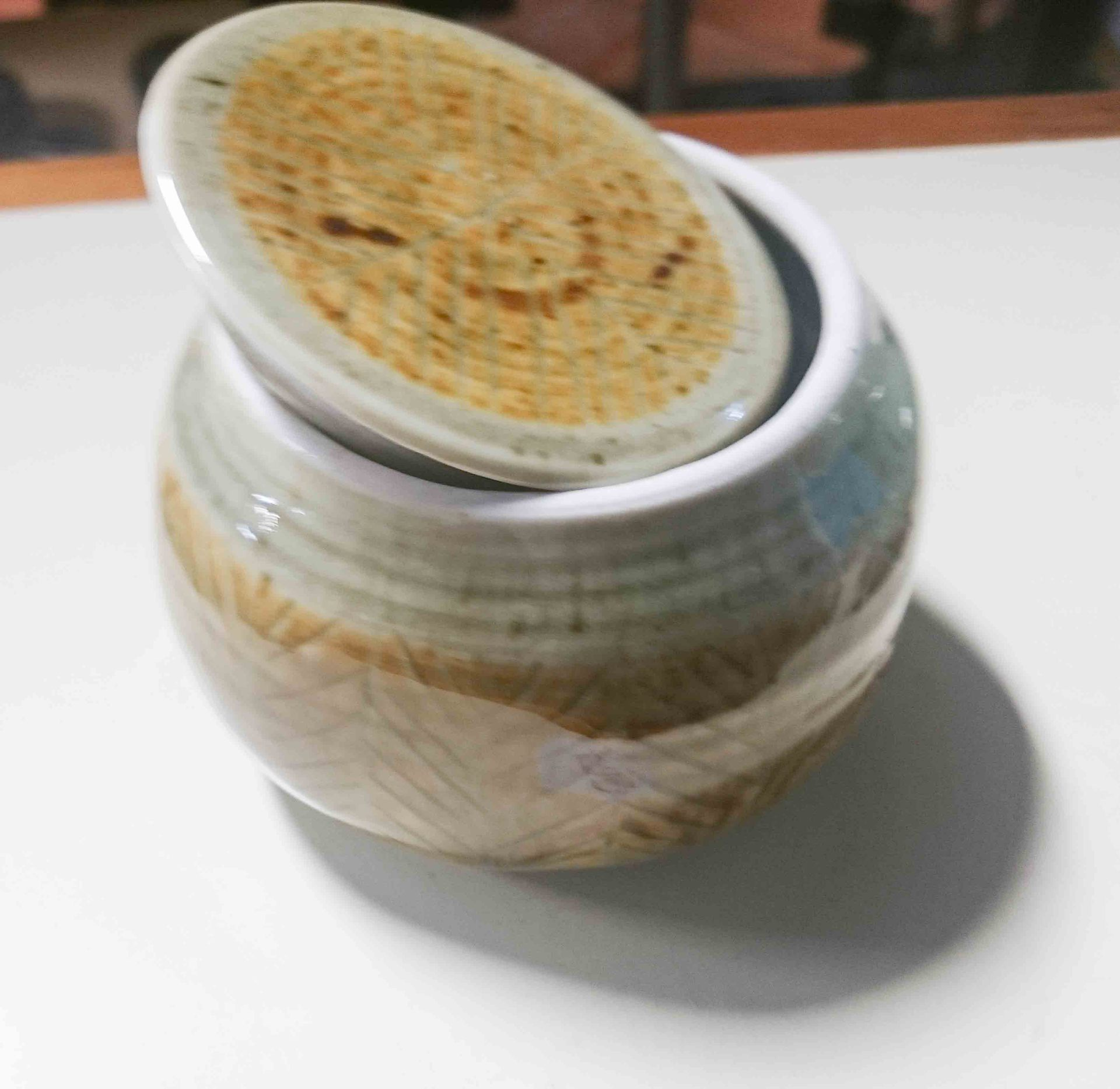 Pottery Covered Jar