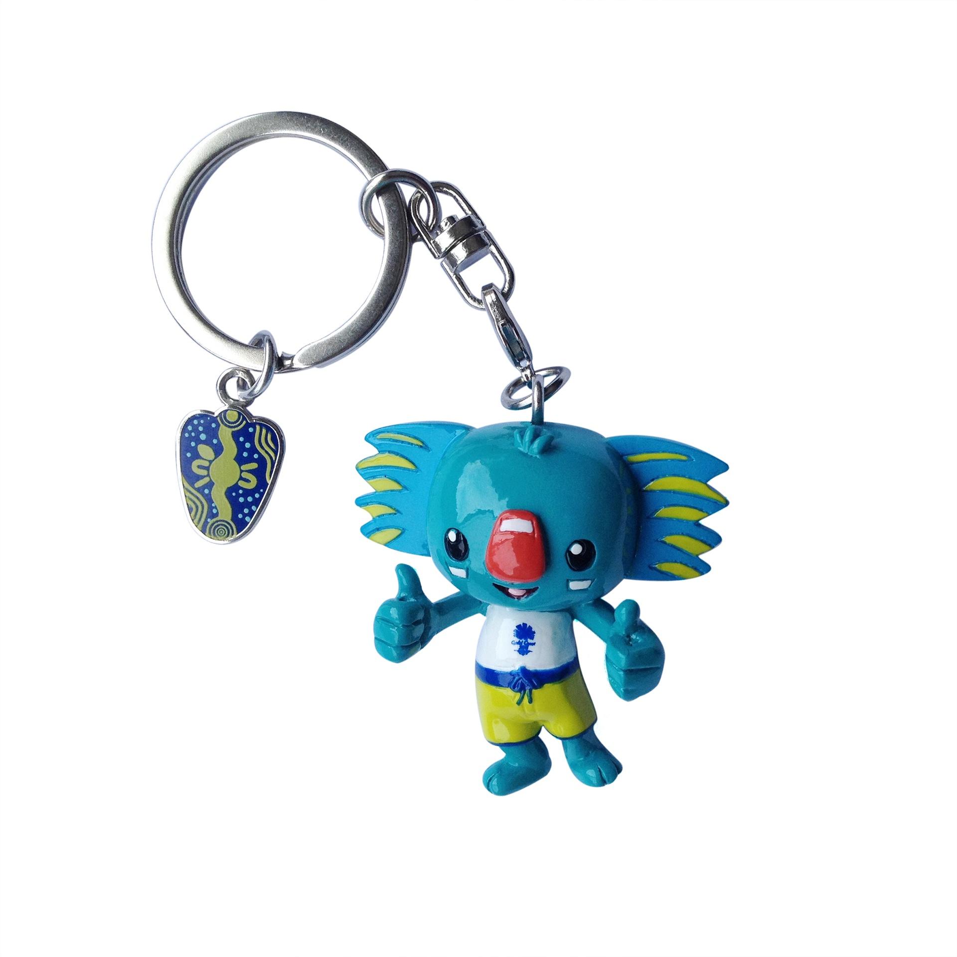 Borobi Mascot 3D PVC Keyring Image